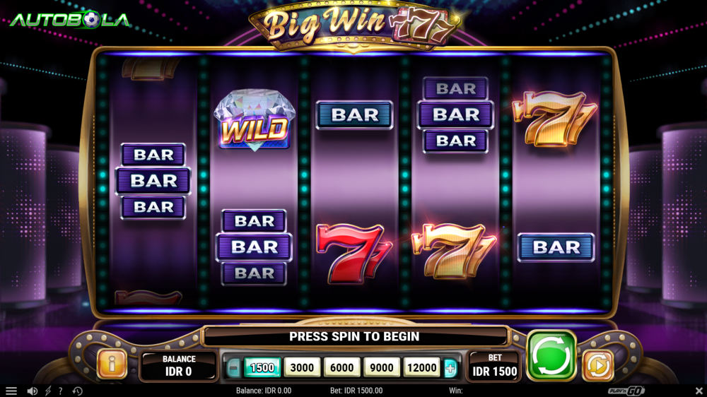 Review Game Big Win 777 (Play'n GO) di Situs Slot Autobola